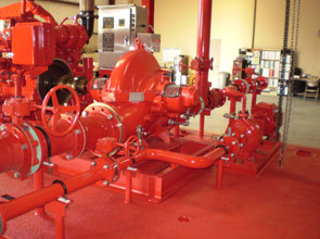 Onshore Fire Pump