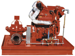 Industrial Horizontal Fire Pump